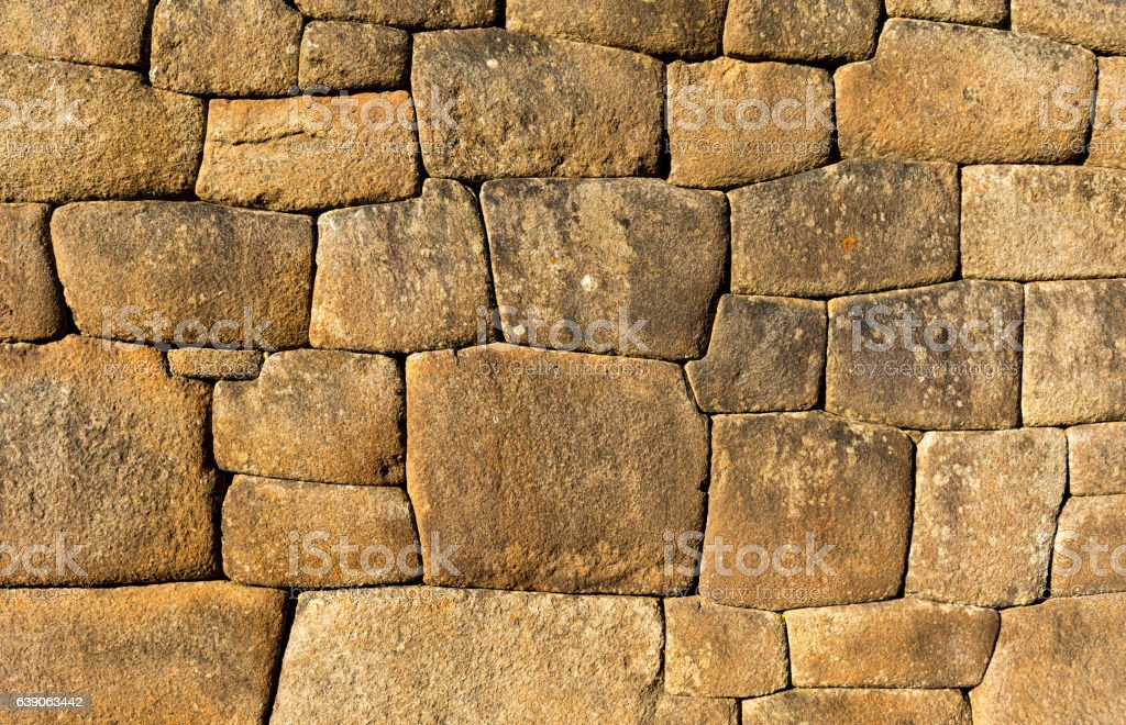 Inca Wall stock photo