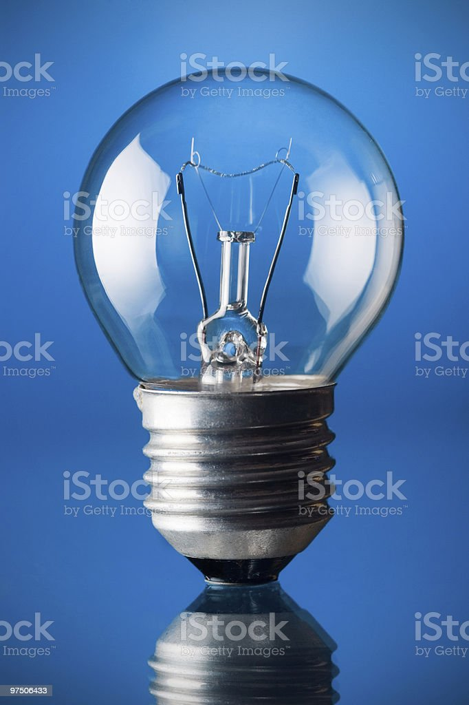 incandescent light bulb royalty-free stock photo