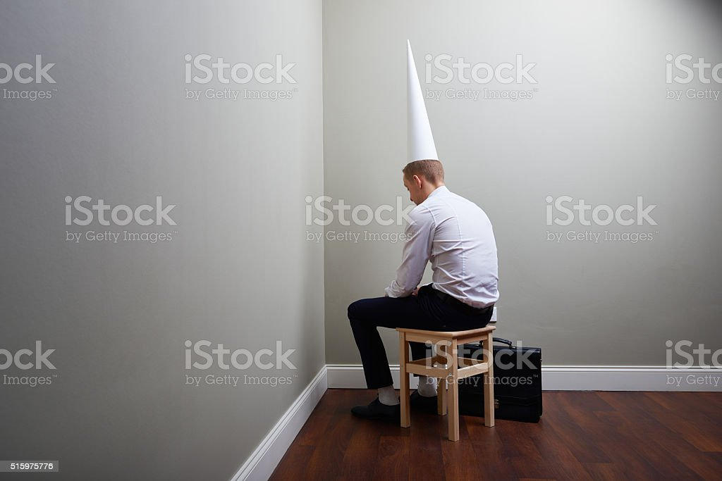 Incapable of business stock photo