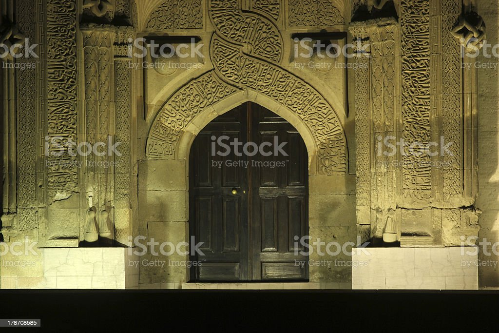 Ince Minare Medrese royalty-free stock photo