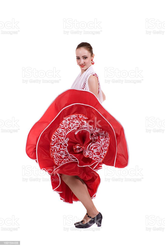 Incendiary Dance stock photo
