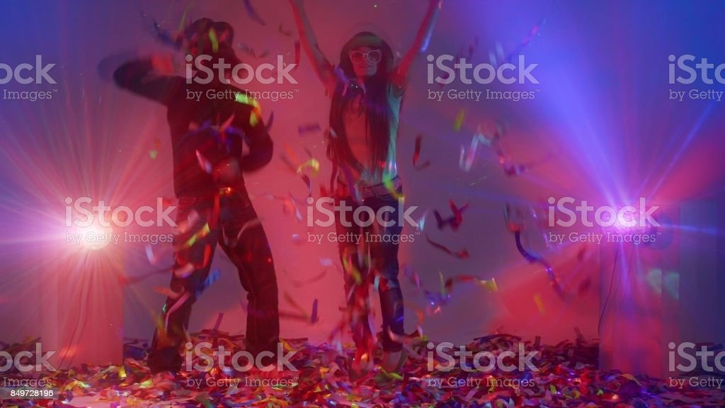 Incendiary Party stock photo