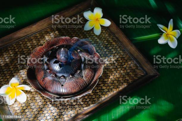 Incense Burner in the shade