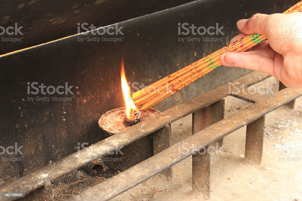 Incense royalty-free stock photo