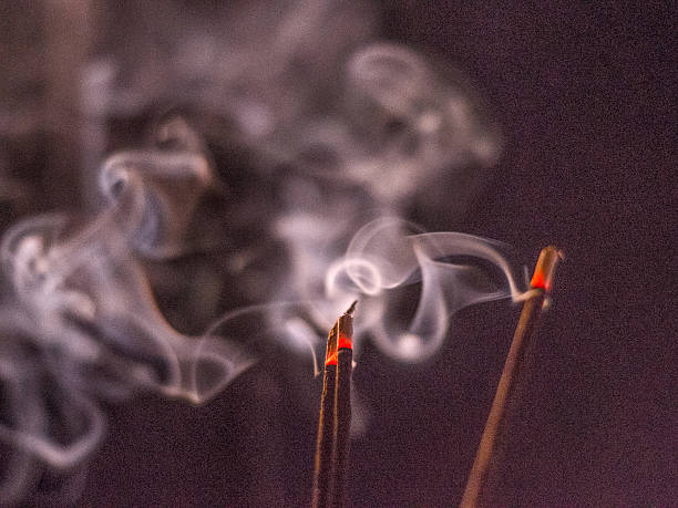incense Smoke incense stock pictures, royalty-free photos & images