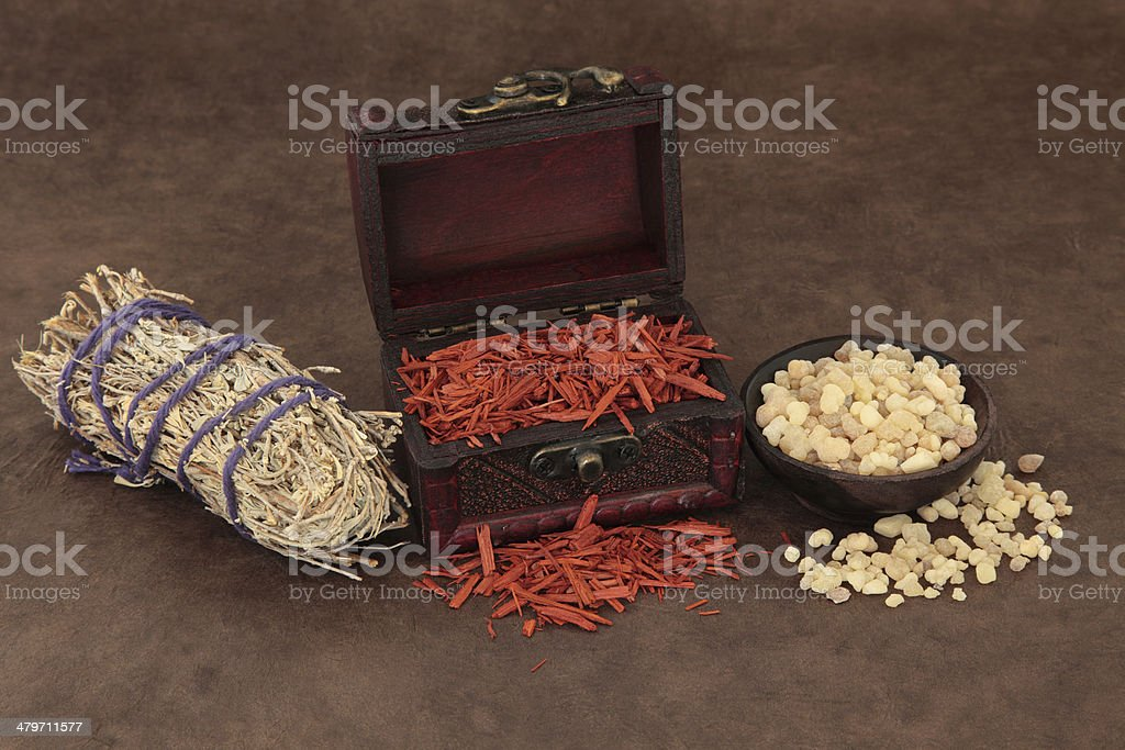 Incense Selection royalty-free stock photo