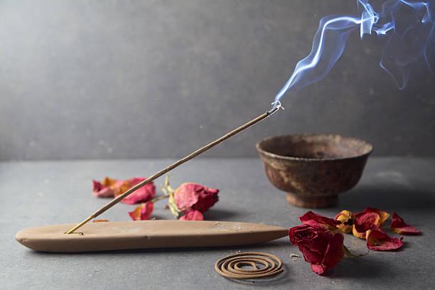 Räucherwerk bleiben. Aromatherapie – Foto