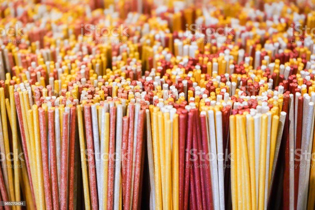 incense stick for sale at shrine zbiór zdjęć royalty-free