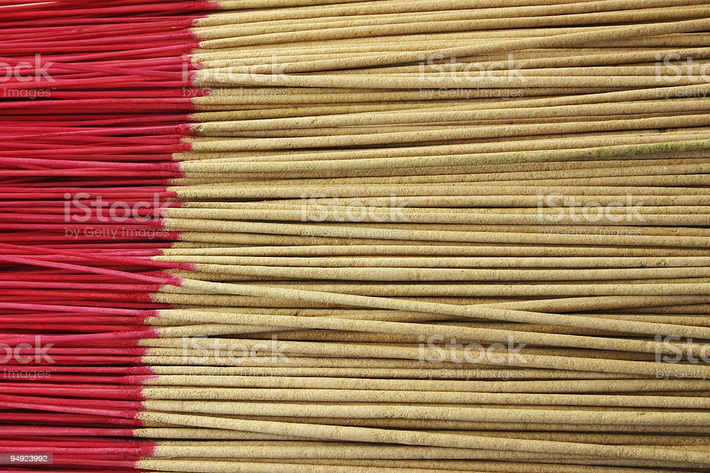 Incense Sticks royalty-free stock photo