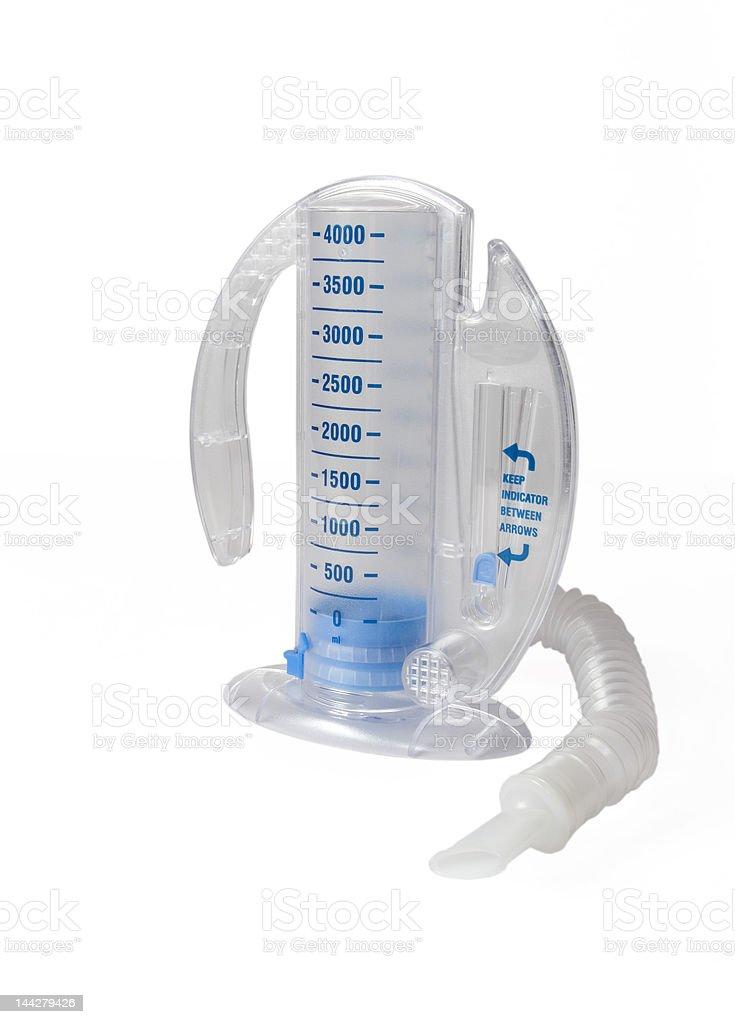 Incentive Spirometer stock photo