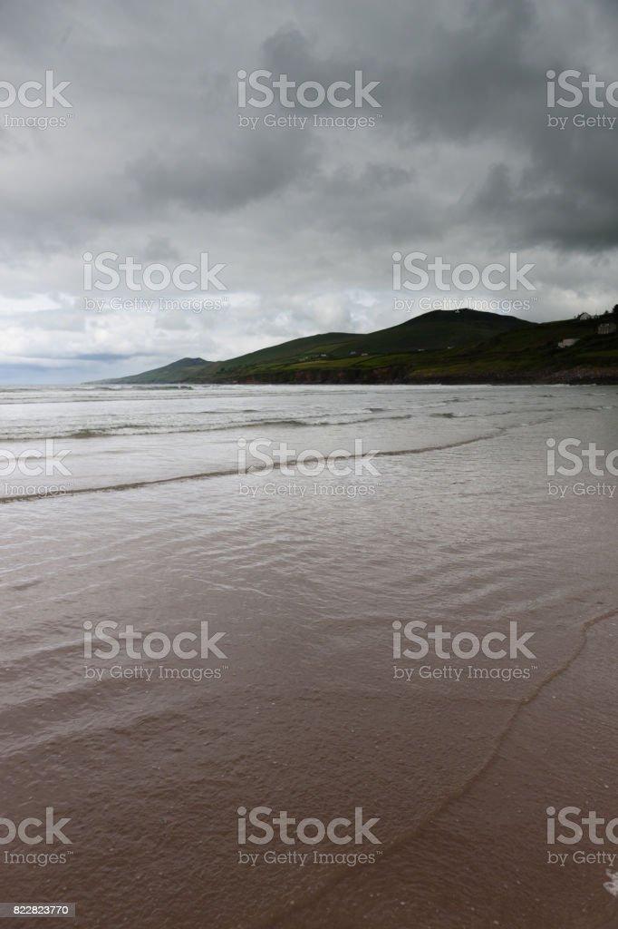 Inch Beach, Dingle Peninsula stock photo