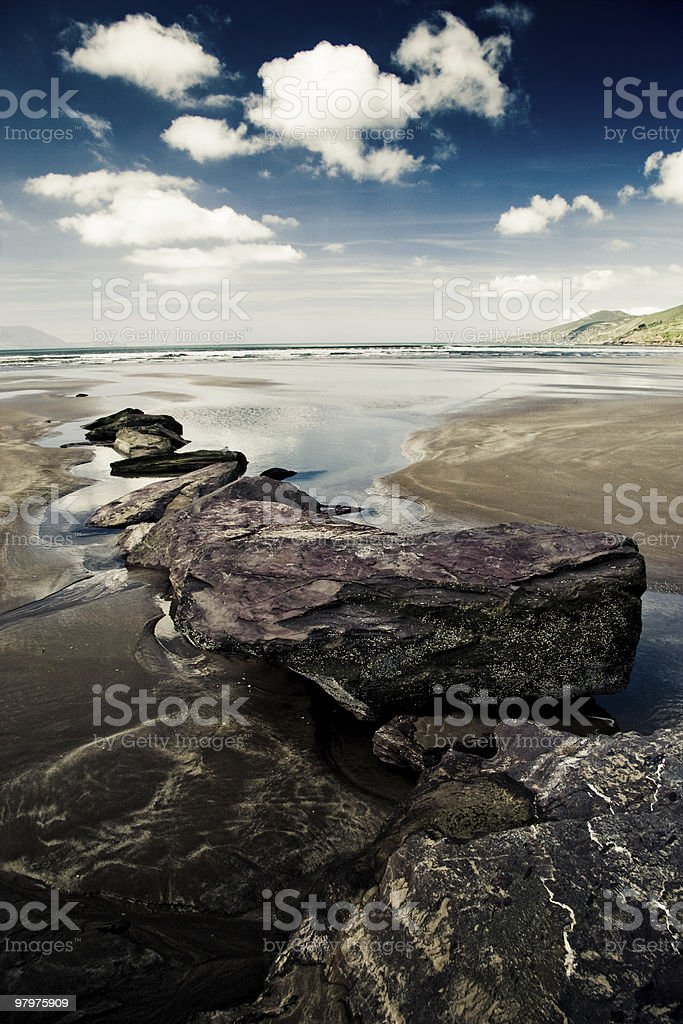 Inch Beach royalty-free stock photo