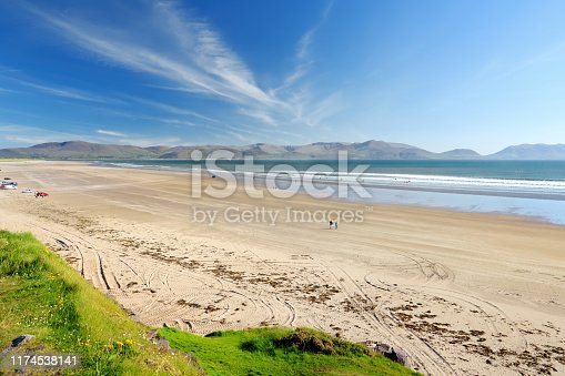istock Inch beach, wonderful 5km long stretch of sand and dunes, popular for surfing, swimming and fishing, located on the Dingle Peninsula, County Kerry, Ireland. 1174538141