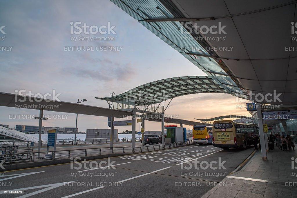Incheon Airport , Korea photo libre de droits