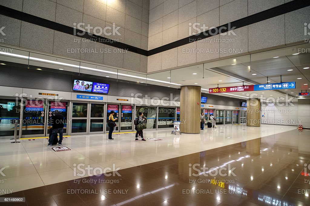 Incheon Airport , Korea foto stock royalty-free
