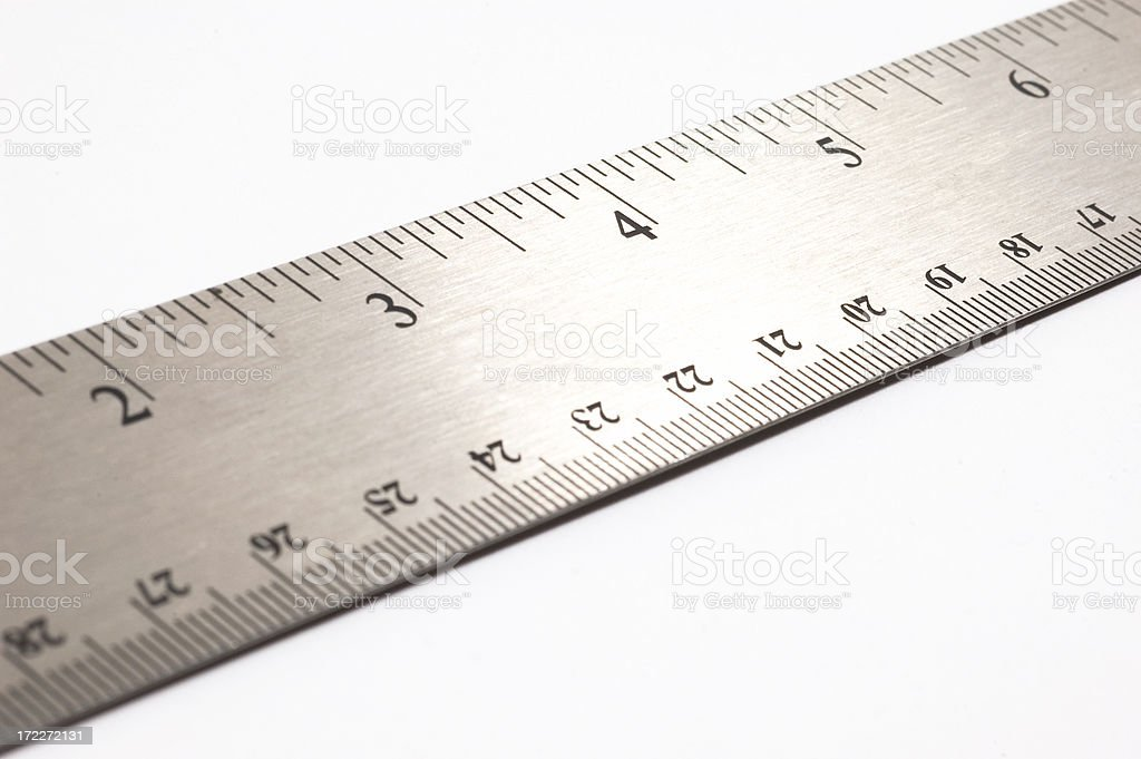 Inches royalty-free stock photo