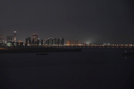Inchon Skyline at Dawn