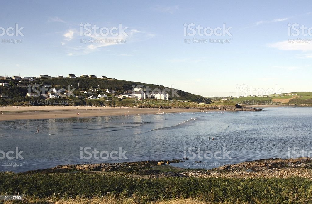 Inchydoney Spa and Hotel, Clonakilty, Ireland stock photo