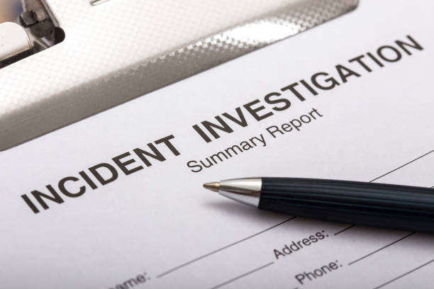 Incident Investigation Report Incident Investigation Report exploration stock pictures, royalty-free photos & images
