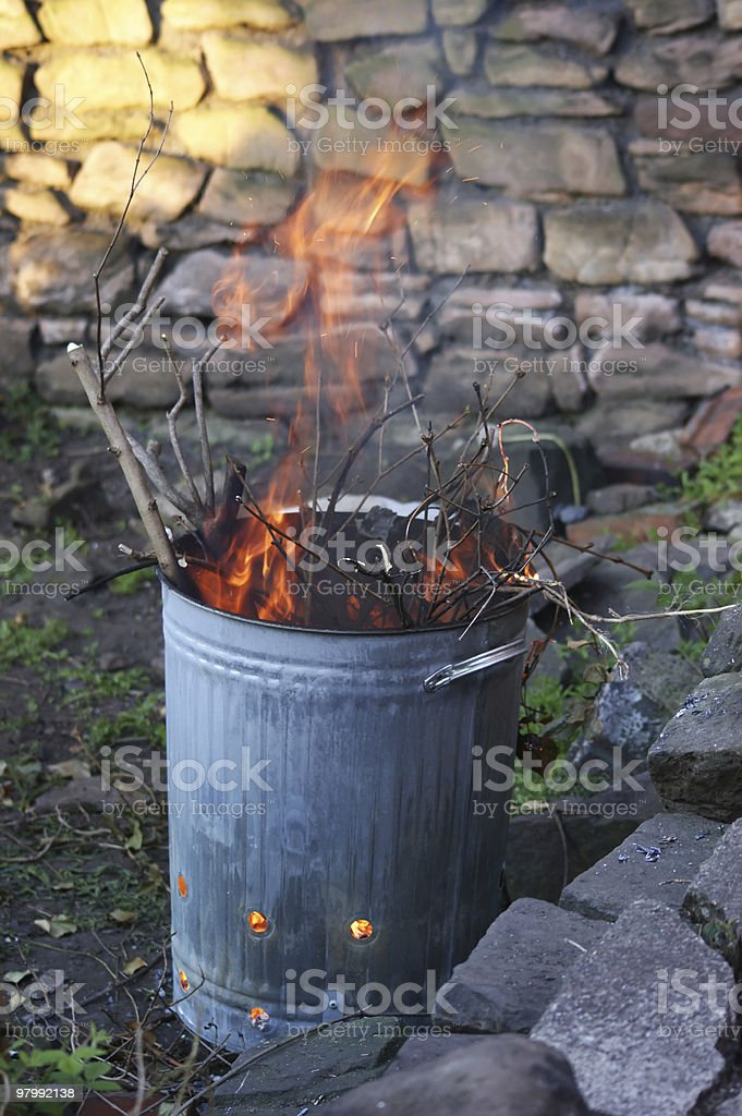 Incinerator royalty-free stock photo