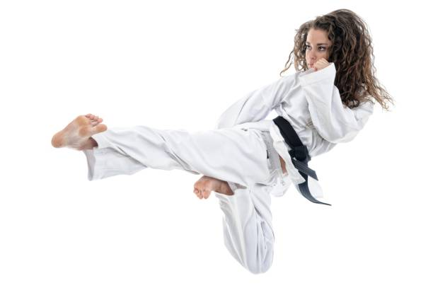 incoming power - martial arts gerville stock photos and pictures