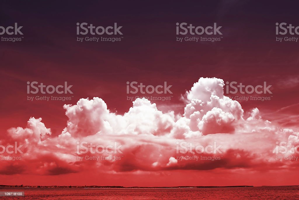 Incoming Storm royalty-free stock photo