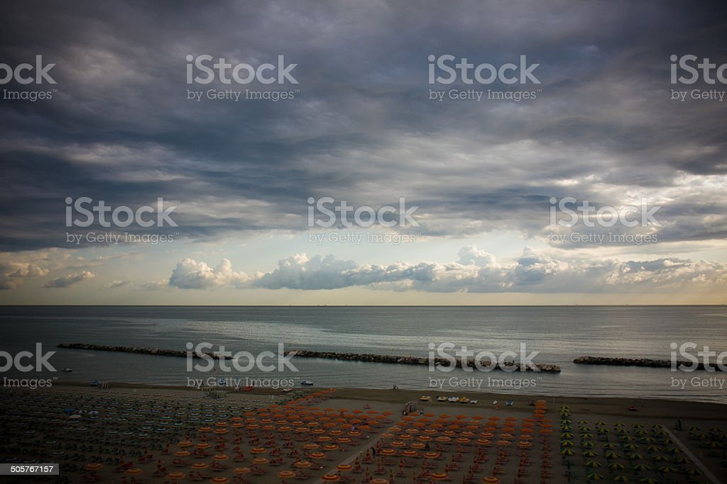Temporale in arrivo stock photo