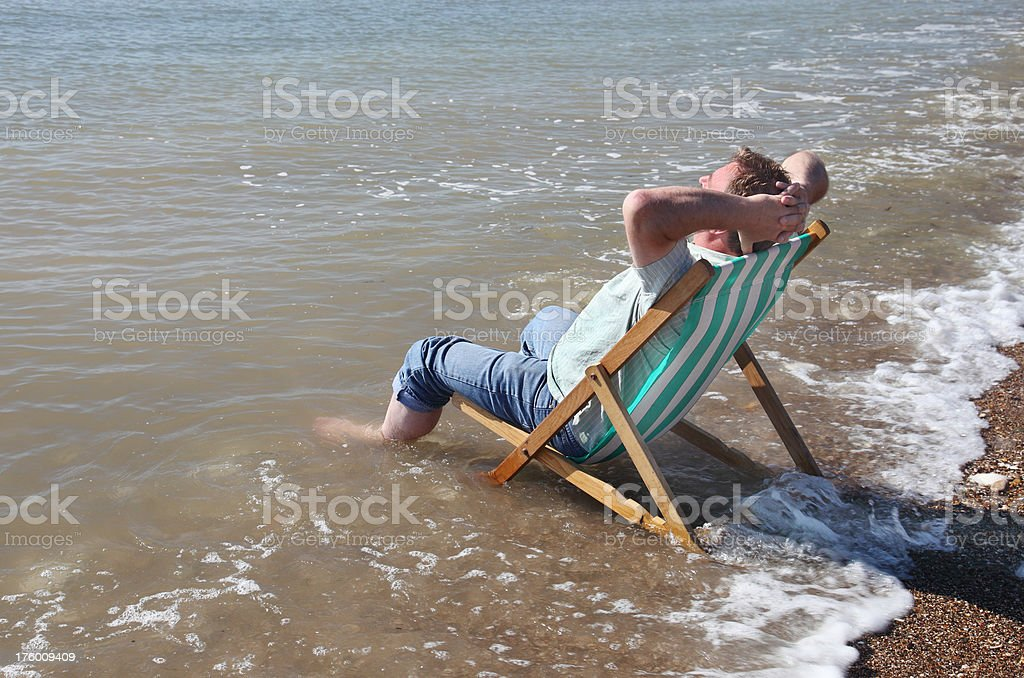 Incoming Tide royalty-free stock photo