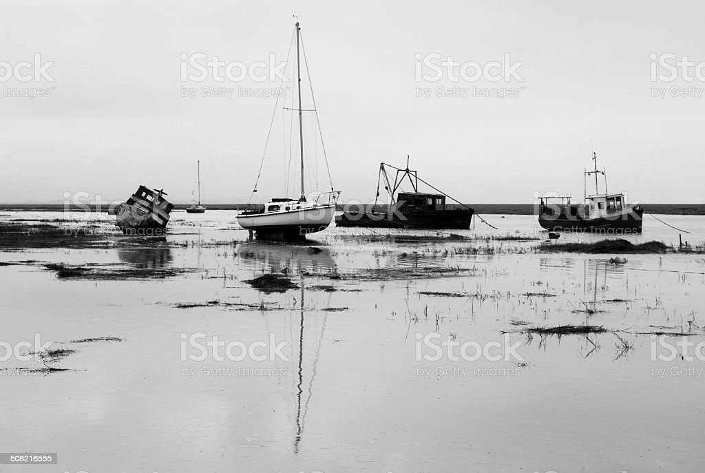 Incoming Tide stock photo