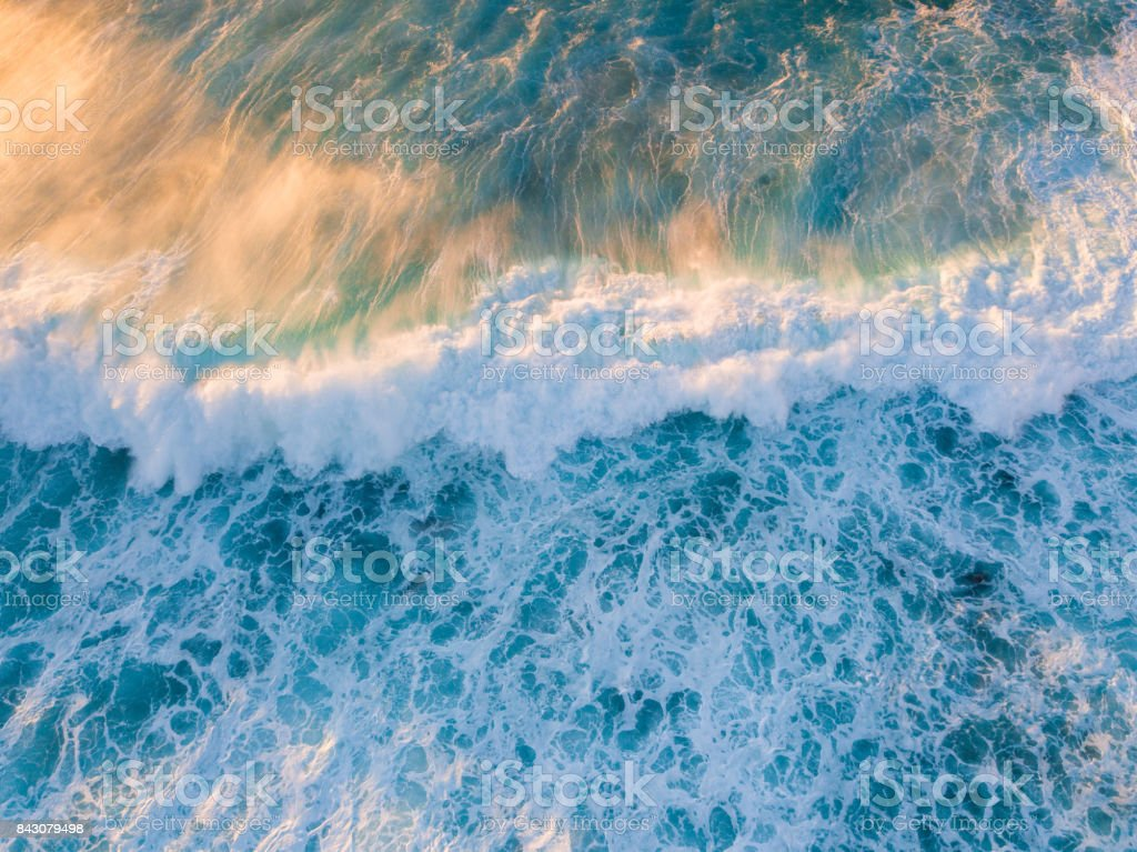 Incoming Wave stock photo