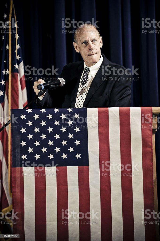 Incompetent Politician stock photo