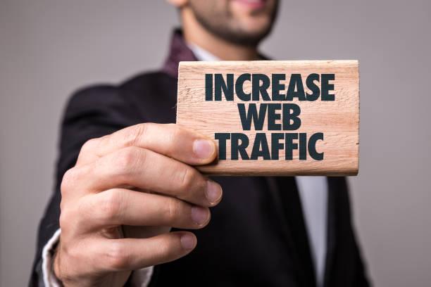 Web-Traffic zu erhöhen – Foto
