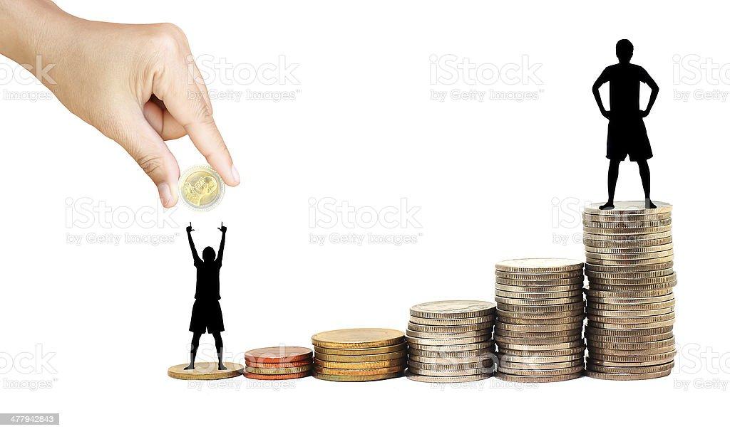 Erhöhen Sie Ihre Ersparnisse – Foto