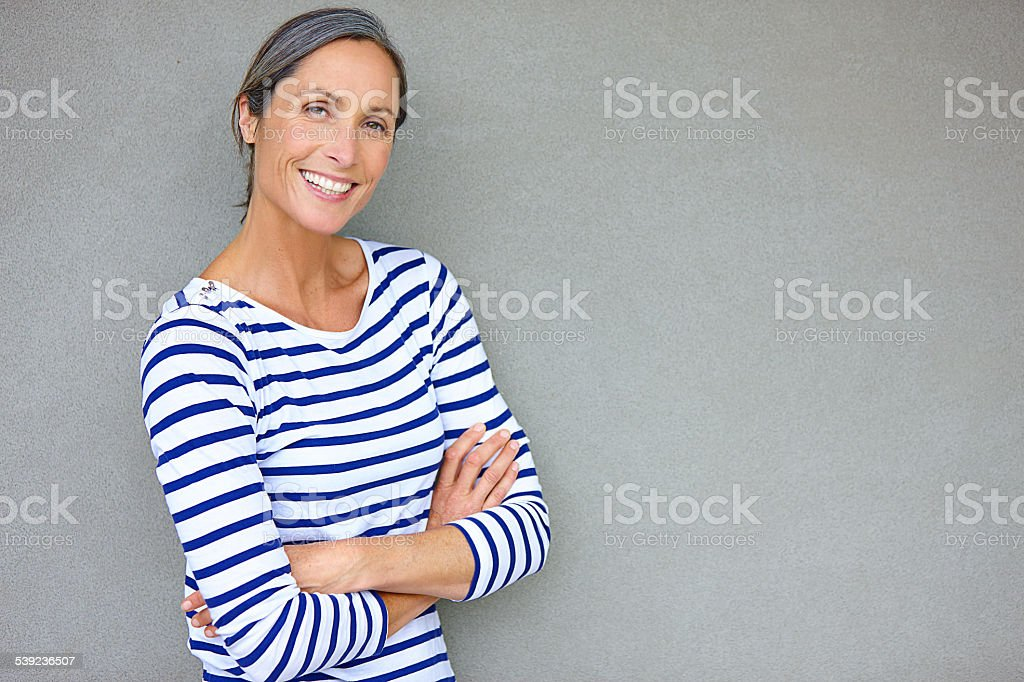 Increased confidence with maturity royalty-free stock photo