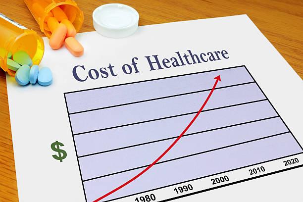 aumento dei costi dell'assistenza sanitaria - 2010 foto e immagini stock