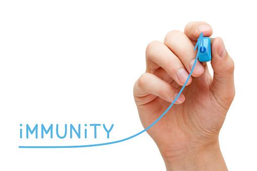 istock Increasing Immunity Graph Concept 1059281768