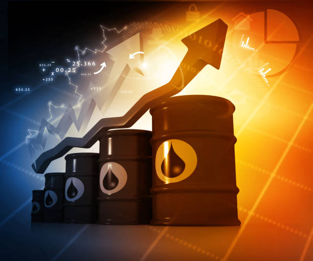increasing oil price - crude oil stock photos and pictures