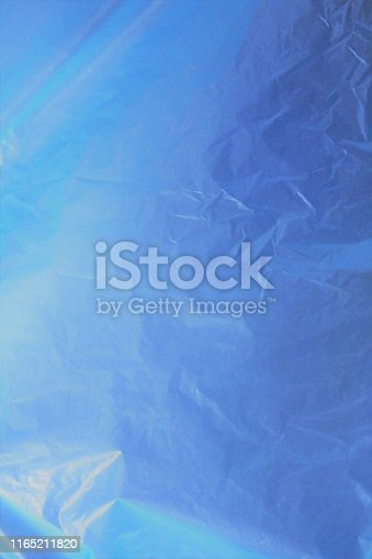 istock Incredible beautiful  fantastic unreal cosmic fieric scientific blue cellophane matte brilliant shining shimmering celestial organic bright gentle soft delicate gradient - blue background 1165211820