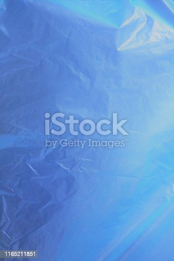 istock Incredible beautiful  fantastic unreal cosmic fieric scientific blue cellophane matte brilliant shining shimmering celestial organic bright gentle soft delicate gradient - blue background 1165211851