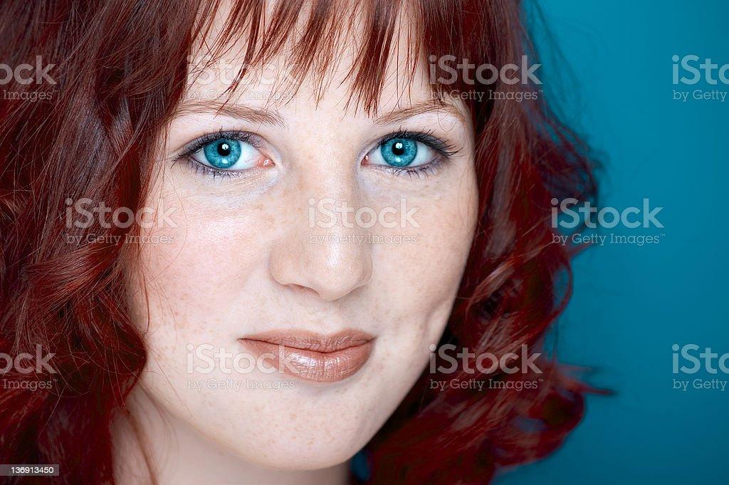 Incredible Eyes royalty-free stock photo