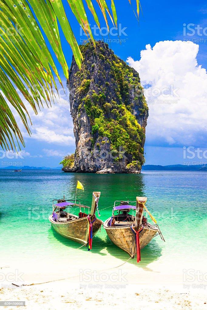 Incredible nature in Thailand. stock photo