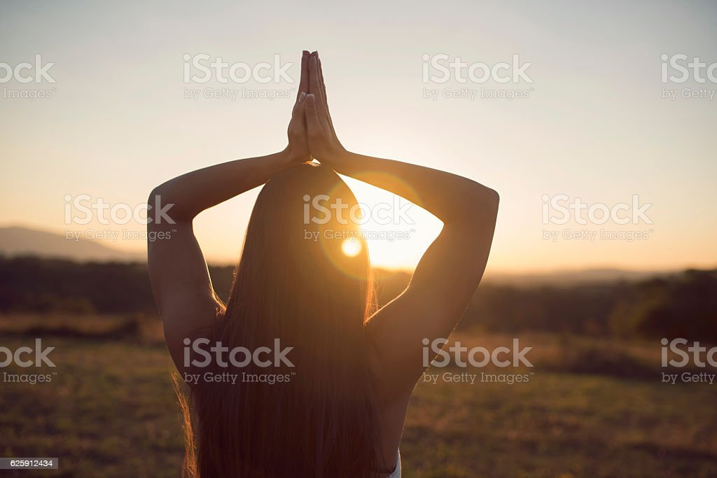 Incredible Yoga stock photo