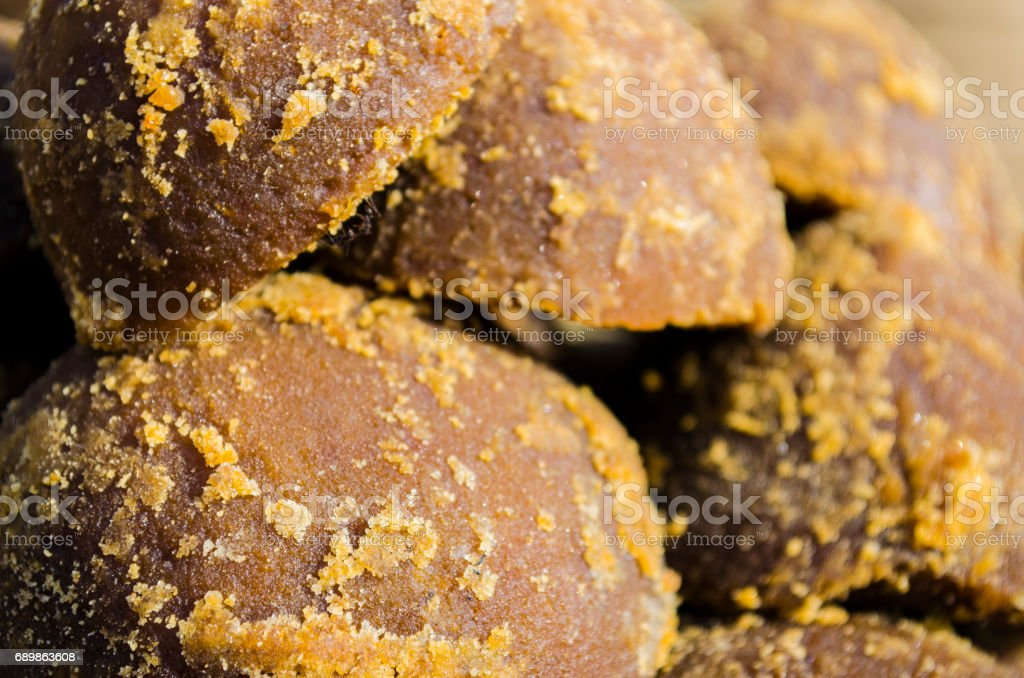 Indan Palm Sugar Or Jaggery Stock Photo - Download Image Now