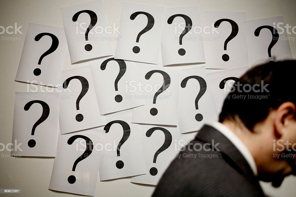 indecision royalty-free stock photo