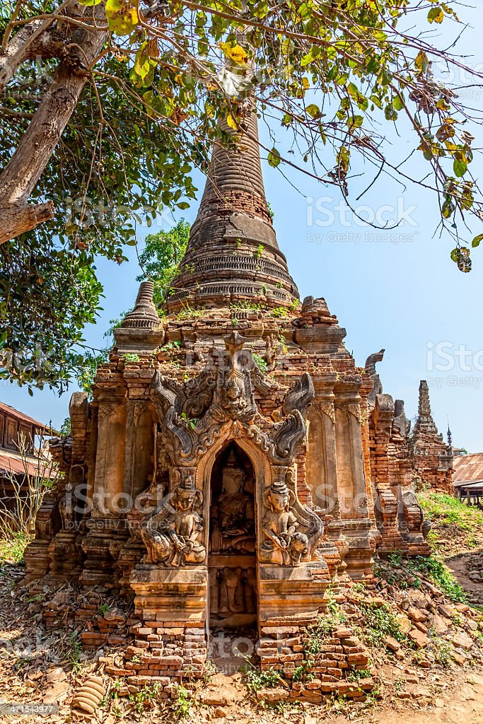 Indein, Inle Lake royalty-free stock photo