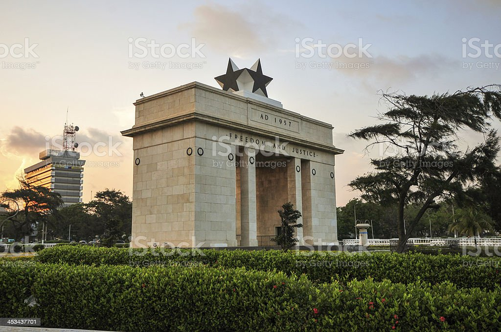 Independence Arch stock photo