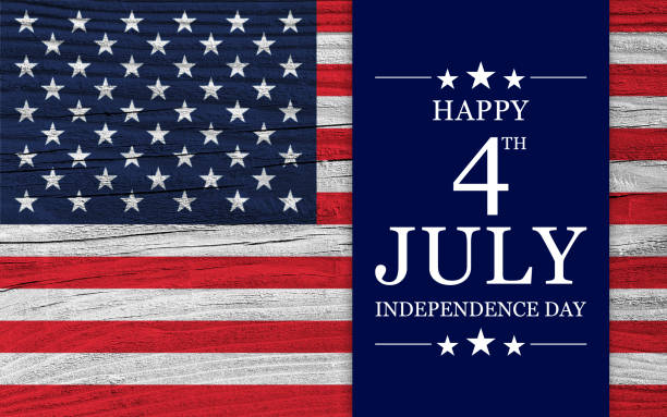 usa independence day background - independence day stock pictures, royalty-free photos & images
