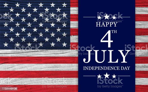 Usa Independence Day Background Stock Photo - Download Image Now