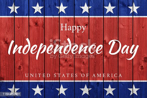 518726782 istock photo USA Independence Day background 1154450431