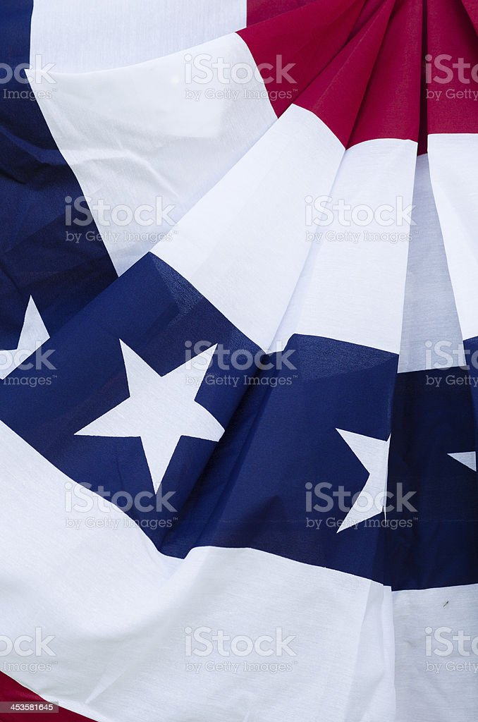 Independence Day Banner Decoration stock photo